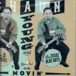 Shaun Young Movin' CD front