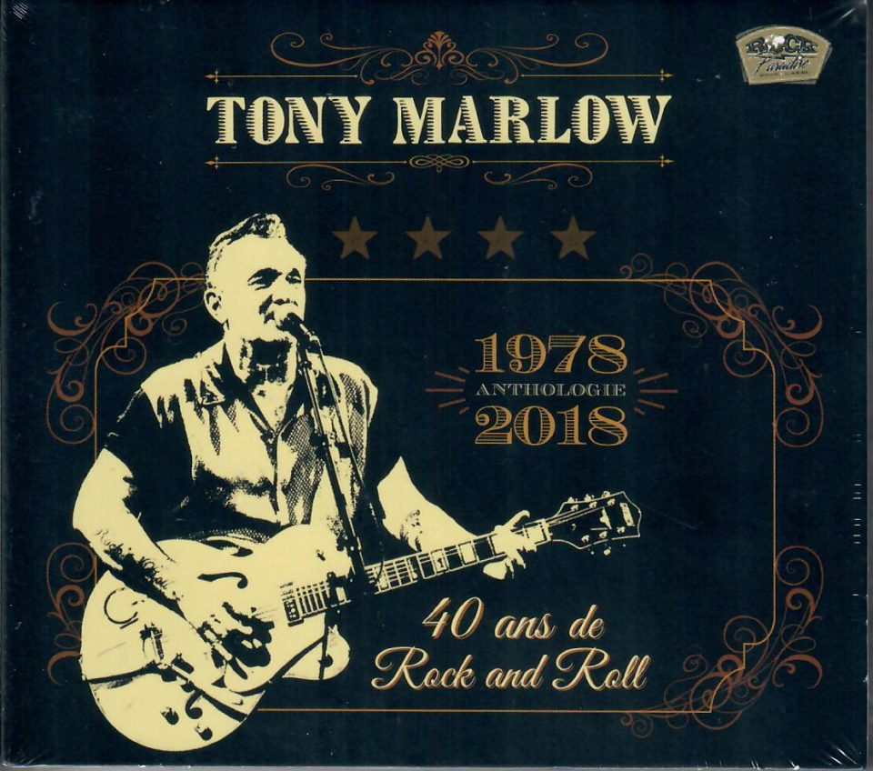 Tony Marlow 40 years 2 CD front