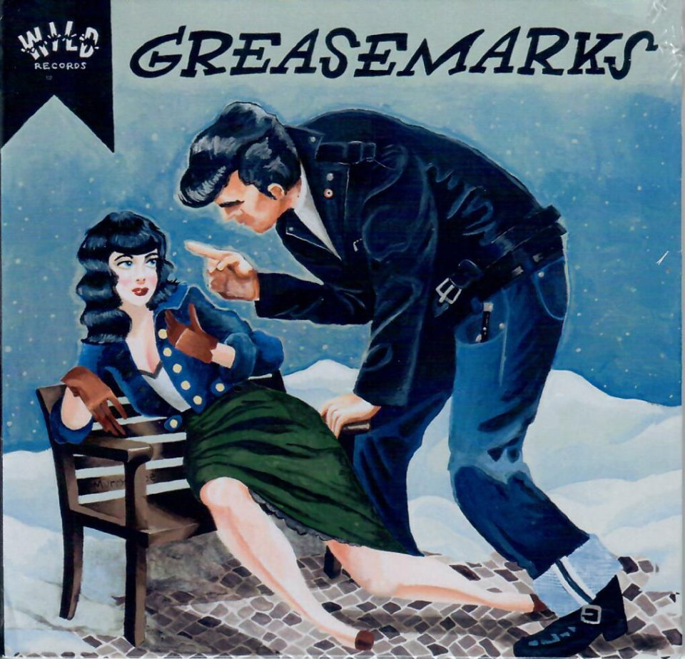 Greasemarks front