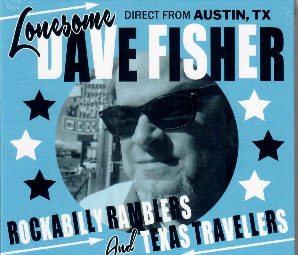 Lonesome Dave Fisher CD front