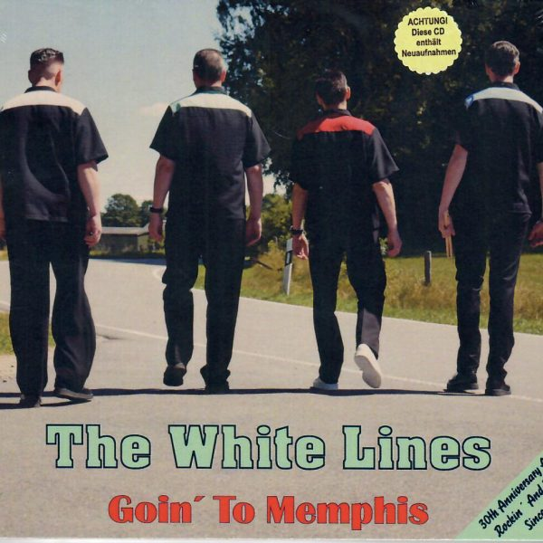 White Lines Going to Memphis CD front