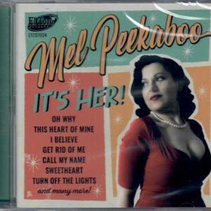 Mel Peekaboo CD front